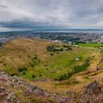 West Edinburgh from Arthur&#8217;s Seat