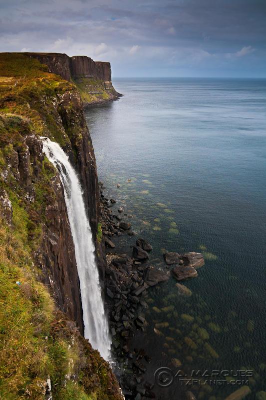 Kilt Rock and Mealt Falls, Isle of Skye