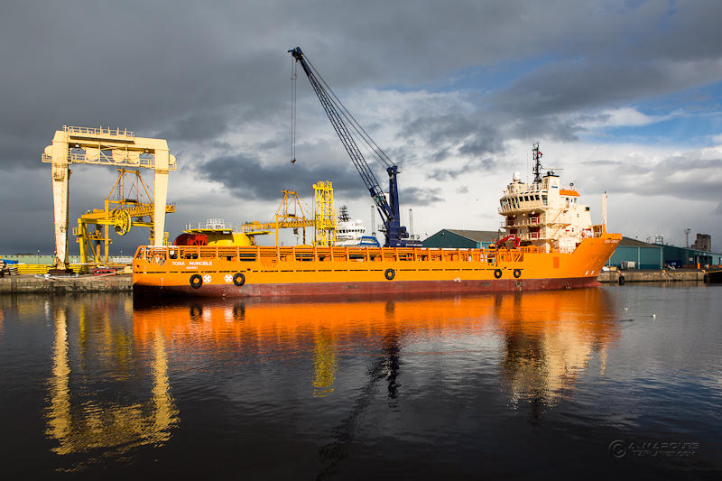 Toisa Invincible at Leith Port