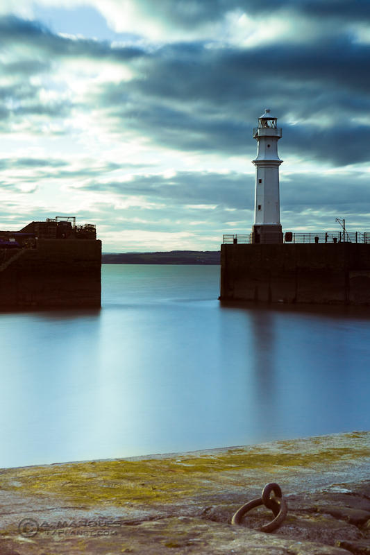 Newhaven Harbour Lighthouse - Long Exposure