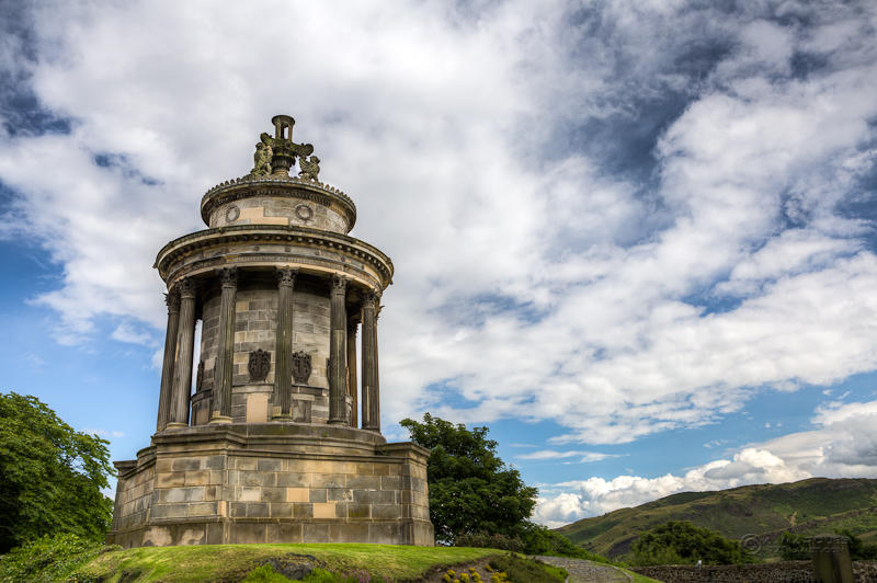 Burns Monument, Edinburgh, Scotland