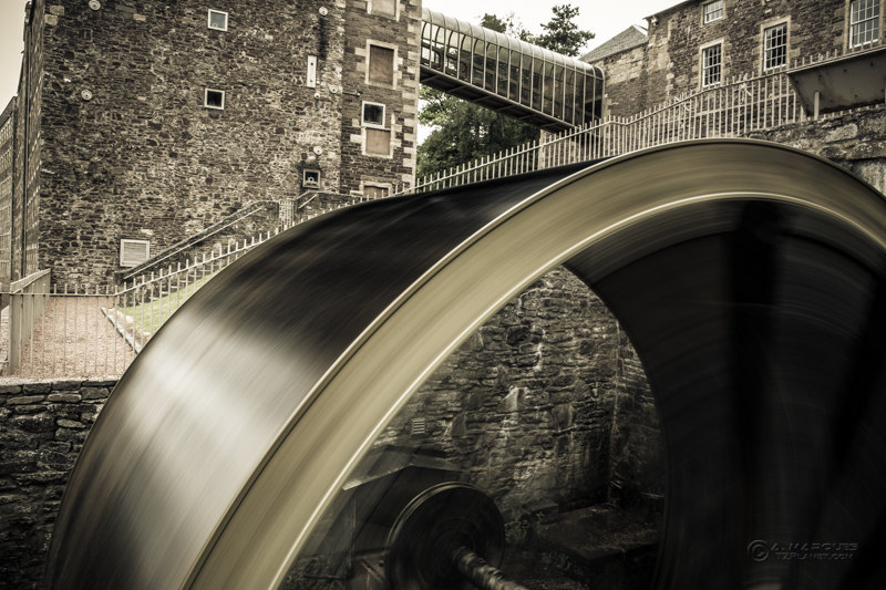 New Lanark Waterwheel